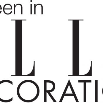 Delighted to be in Elle Decoration