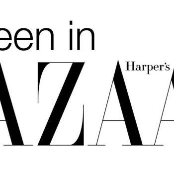 We're in Harper's Bazaar this month!