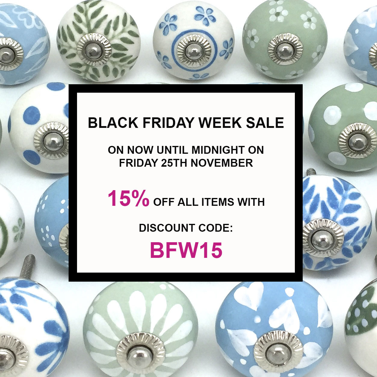 BLACK FRIDAY WEEK SALE - ON NOW!