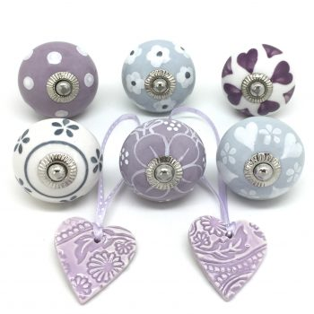 Lovely Lilac & Grey