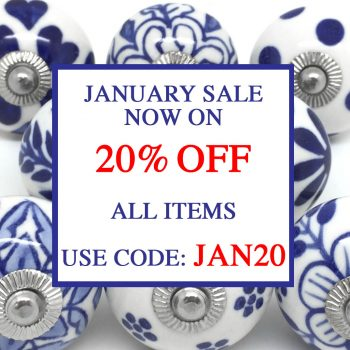 Our January Sale Has Started - 20% Off All Items!