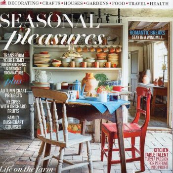 Our Sissinghurst Set is Featured in Country Living!