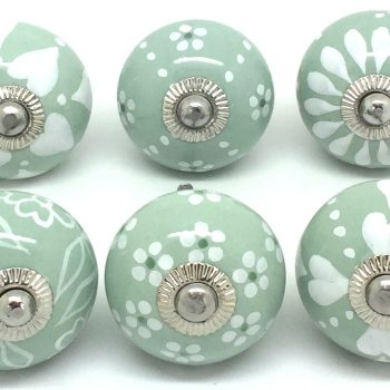 New Designs in our Set of 6 Sage Green