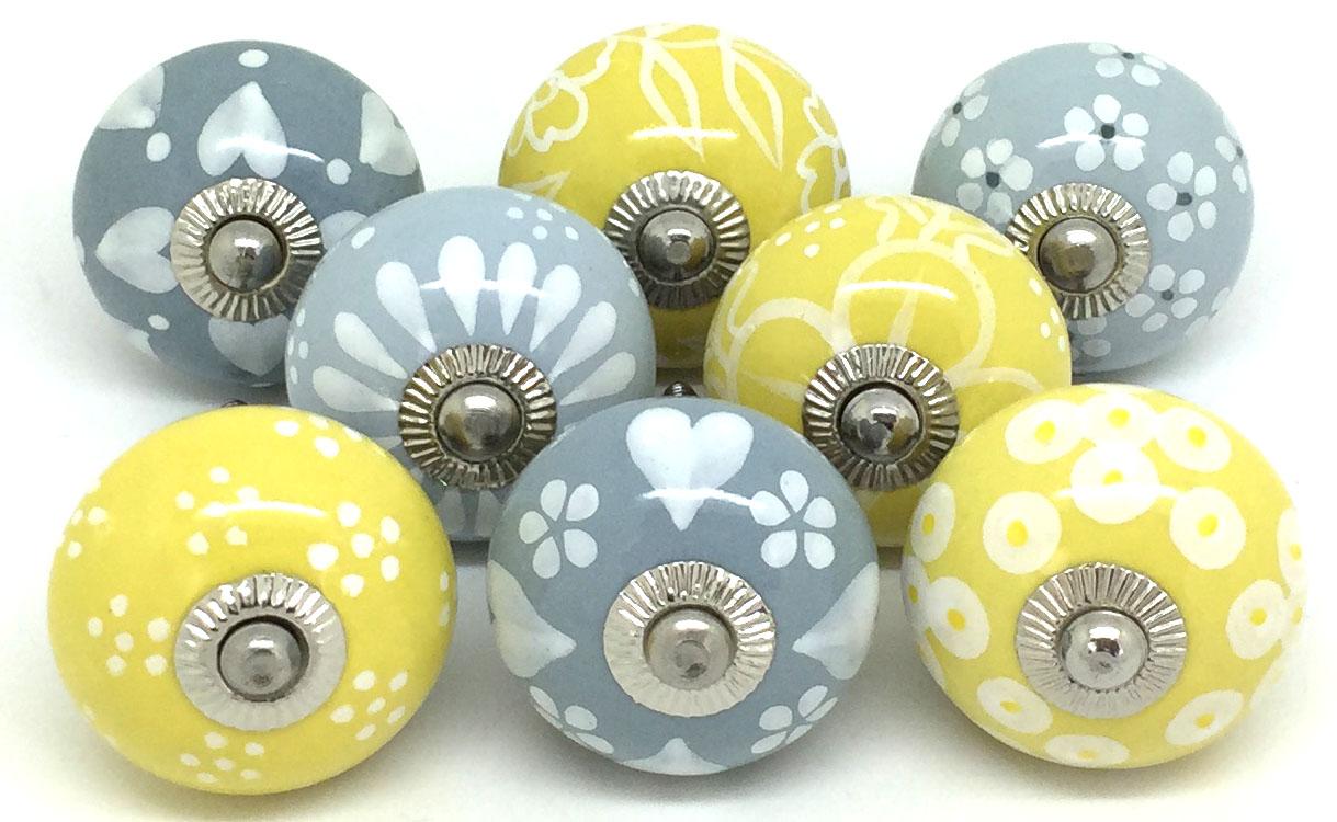 Calming Greys and Uplifting Yellows