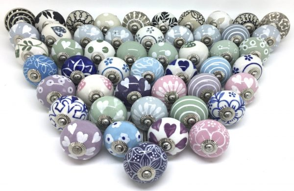 50 Seconds Mixed Set of Ceramic Knobs