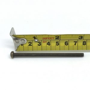7.5cm Gold Coloured Longer Bolt