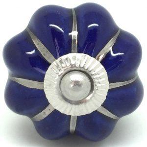 CK007 Midnight Blue Flower