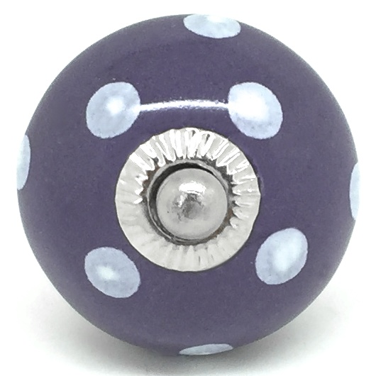 CK018R Plum Purple Polka Dot 2nd Quality