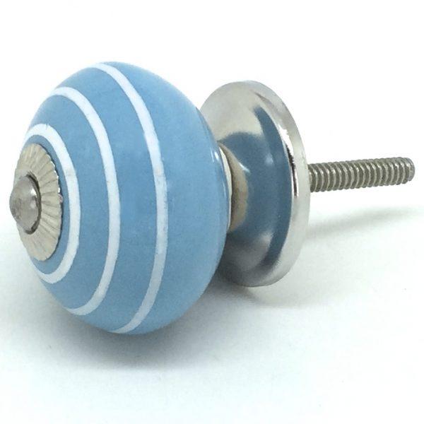 CK050 Marina Blue White Stripes