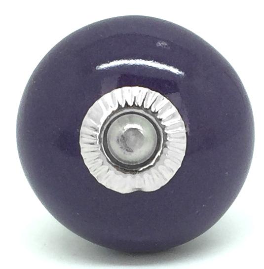CK068R Plum Purple Round 2nd Quality