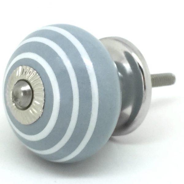 CK078 Burwash Grey with White Stripes