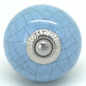 CK093 Blue Round Crackle