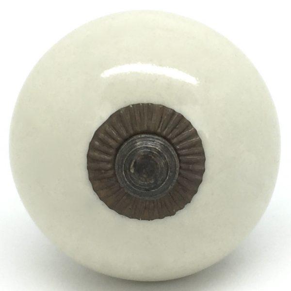 CK158 Almond Cream Gold Round