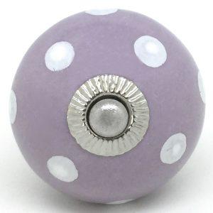 CK231 Lilac Polka Dot