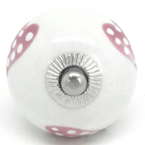 CK244 Petal Pink Dotty Heart