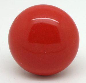 CK265 Red Larger Round (4.5cm diam) Slight Seconds