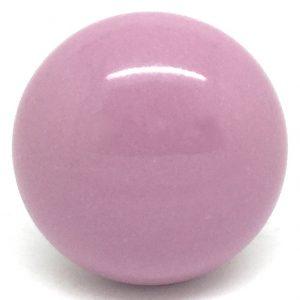CK271 Pastel Pink Knob (4.5cm diam) SLIGHT SECONDS