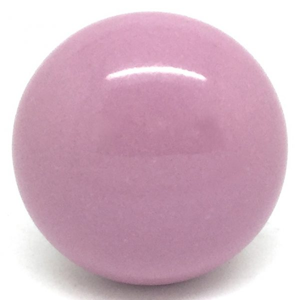 CK271 Pastel Pink Knob (4.5cm diam) SLIGHT SECONDS