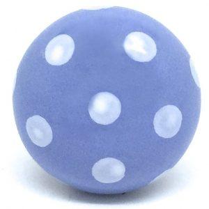 CK278 Aster Blue Dot (4.5cm diam) knob - SLIGHT SECONDS