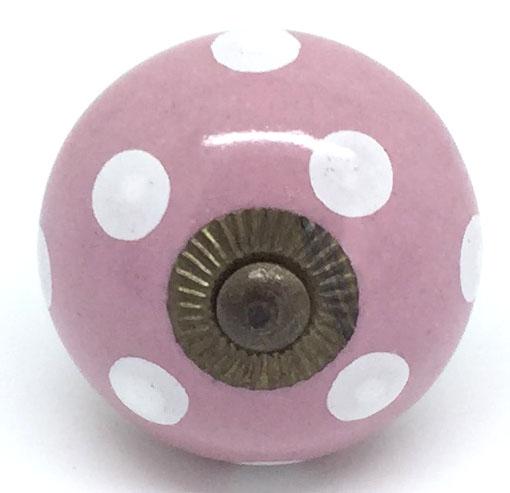 CK302 Vintage Pink Polka Dot Slight 2nds