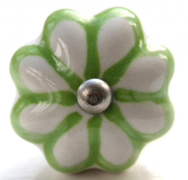 CK337  Green Daisy Flower