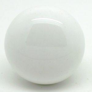 CK379  White Larger Round