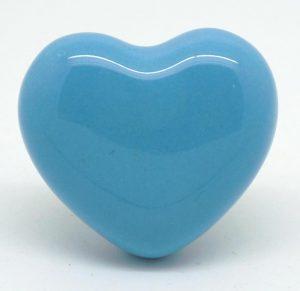 CK436R Marina Blue Heart 2nd Quality