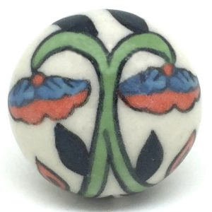 CK461 Biscay Botanical Ceramic Knob