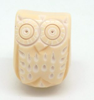 CK511 Buttermilk Resin Owl Seconds