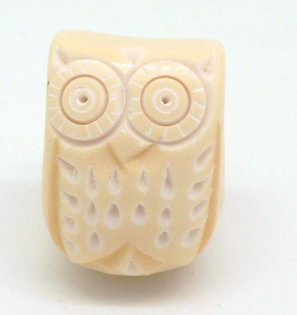 CK511 Buttermilk Resin Owl Seconds