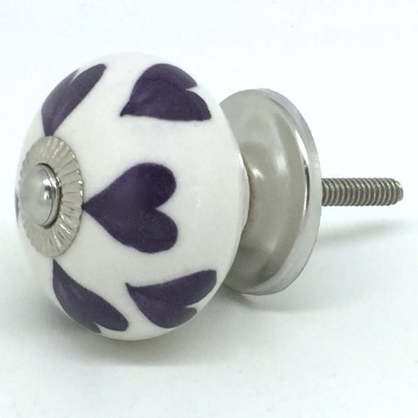 CK515 White with Purple Hearts