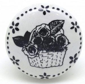 CK596 Daisy Garland Basket