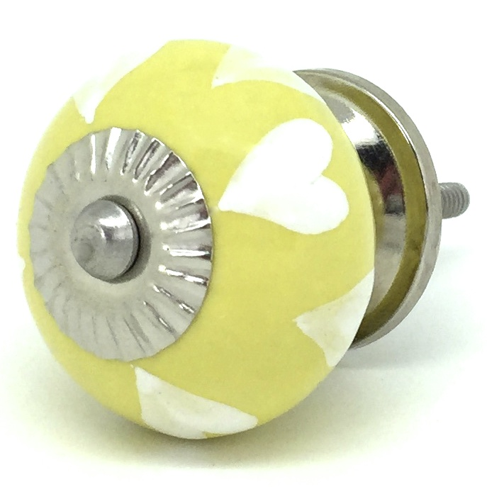 CK706 Yellow White Hearts