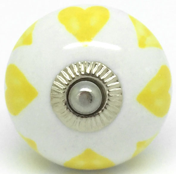 CK713 Love Hearts Yellow