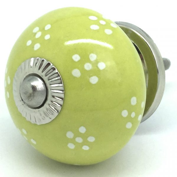 CK741 Vintage Daisy Soft Lime Green