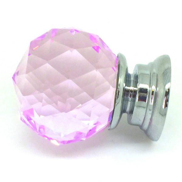 GK004 Mayfield Pink 3cm Glass