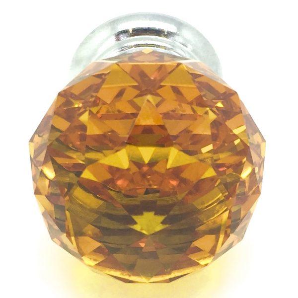 GK006 Mayfield Amber 3cm Glass