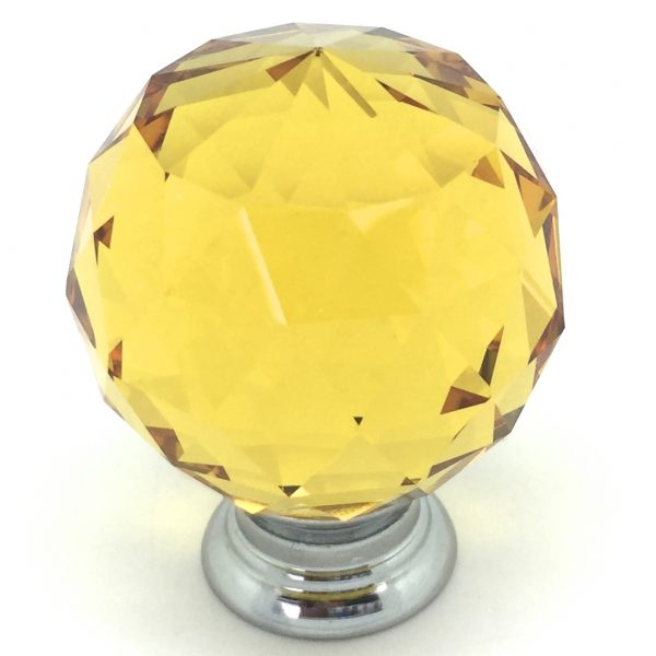 GK013 Mayfield Amber 4cm Glass