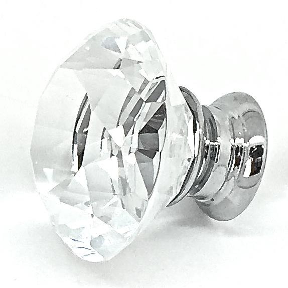 GK017 Rushlake Clear 4cm Glass