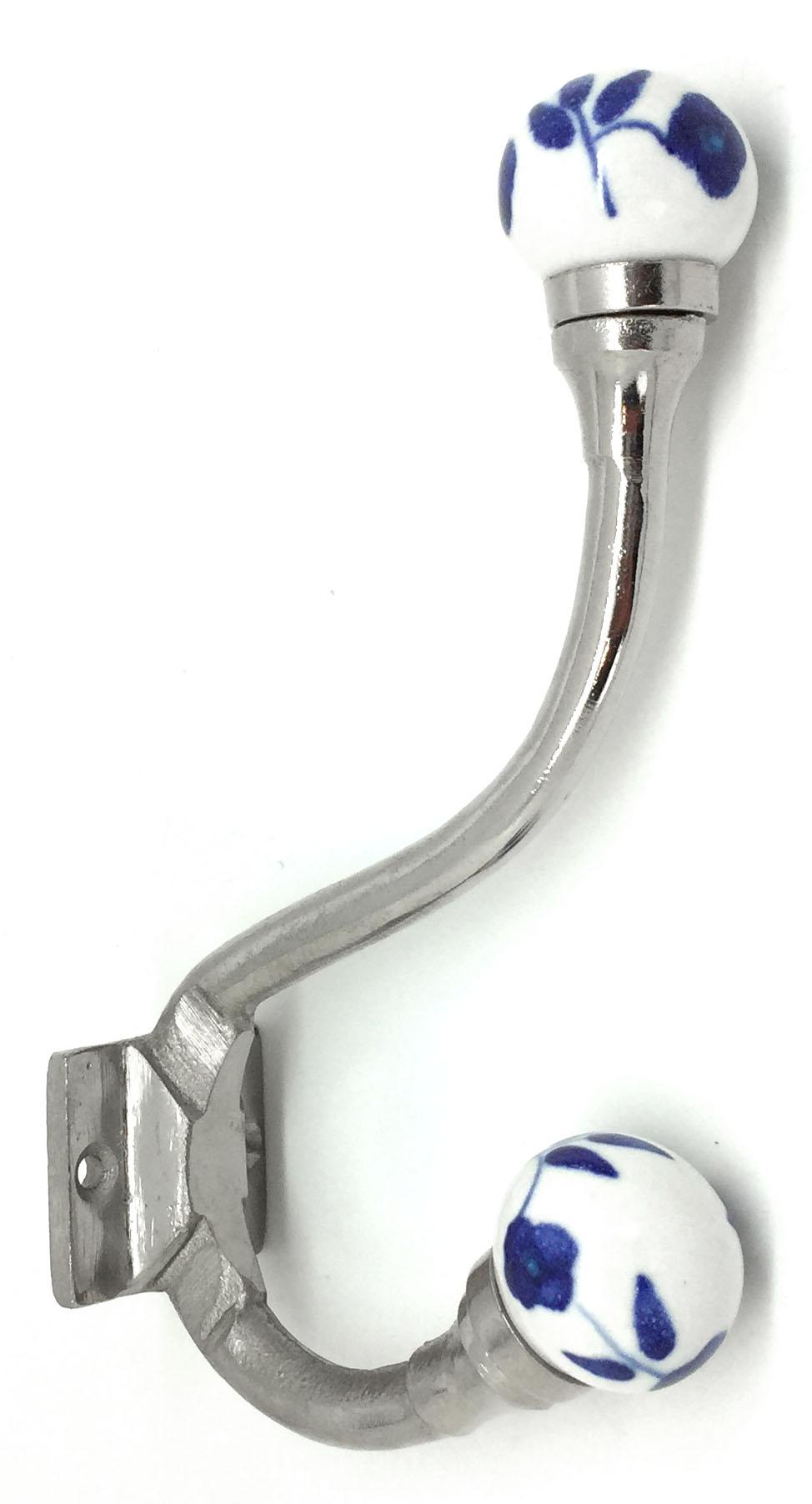 HK204 Claremont Clematis Coat Hook