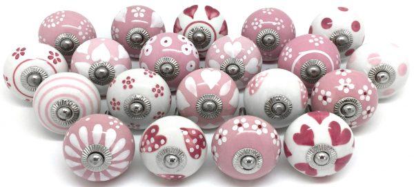 Set 20 Pink & White Z42