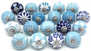 Set of 20 Mixed Blues Z47